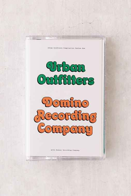 Various Artists - UO Domino Compilation Cassette Tape,GREEN,ONE SIZE