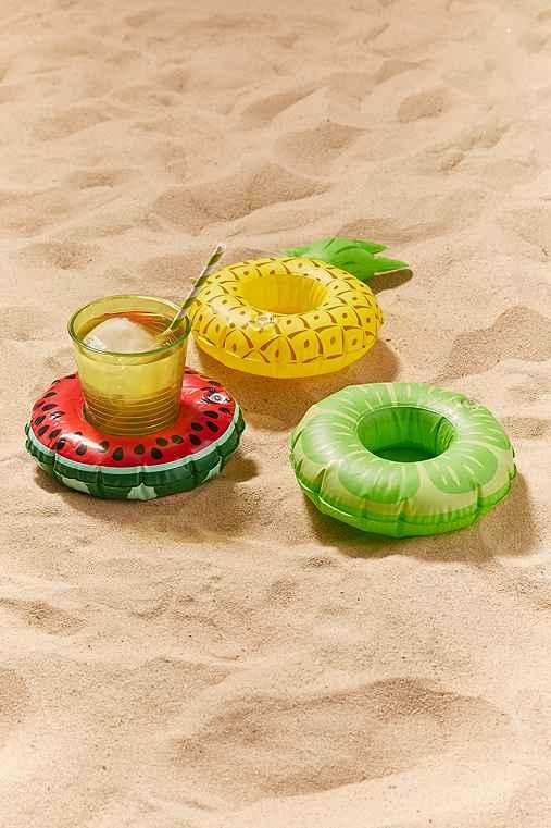 Fruit Drink Holder Pool Float Set,ASSORTED,ONE SIZE