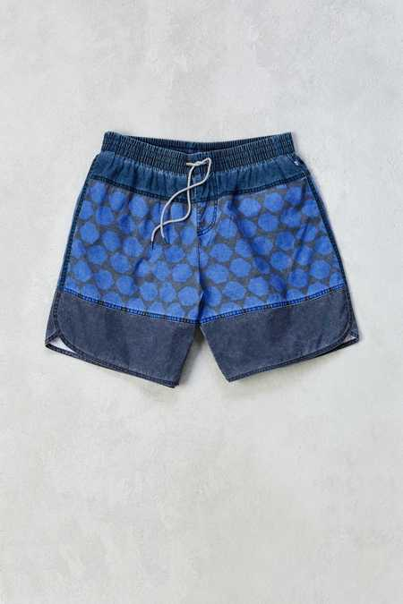 Without Walls Printed Dolphin Hem Boardshort