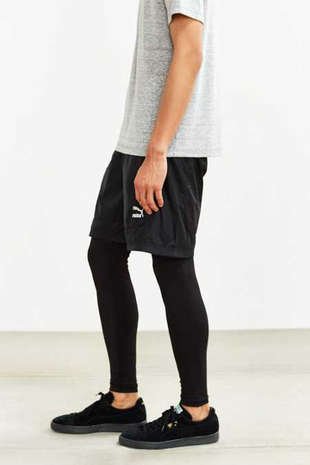 Puma Embossed Layered Short