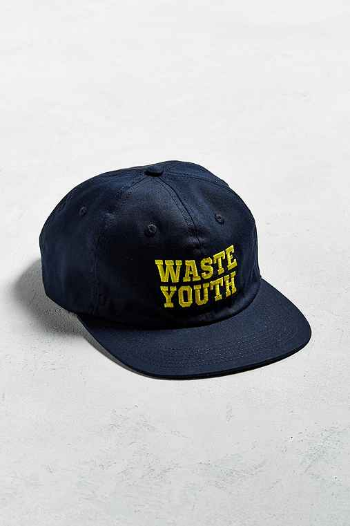 obey waste youth 6 panel baseball hat outfitters
