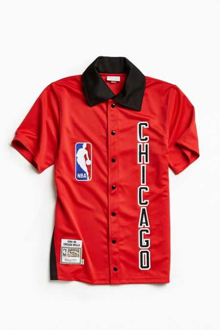 Mitchell & Ness Authentic NBA Chicago Bulls Shooting Shirt