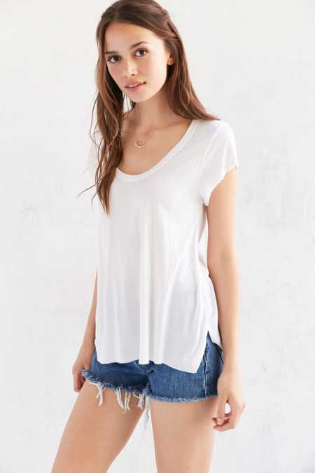 Truly Madly Deeply Madison Scoop Tee