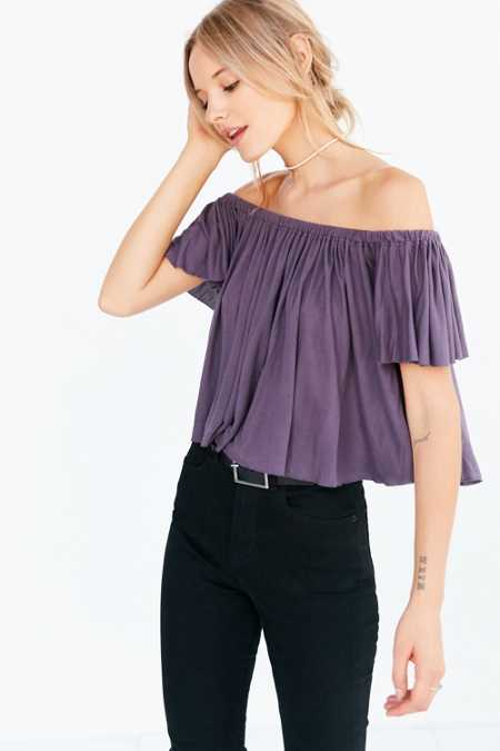 Truly Madly Deeply Lola Off-The-Shoulder Top