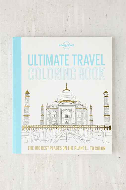 Ultimate Travel Coloring Book By Lonely Planet,ASSORTED,ONE SIZE