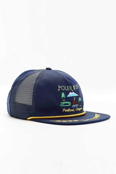 Poler Tourist Trap Mesh Trucker Hat