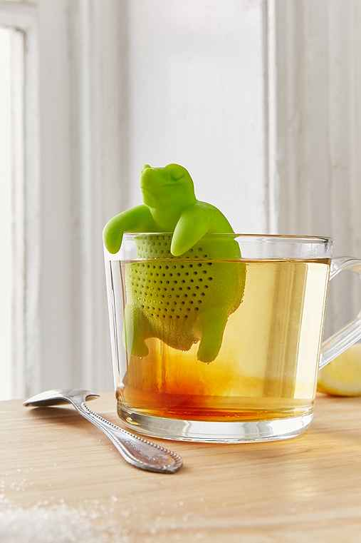 Turtle Tea Infuser,GREEN,ONE SIZE