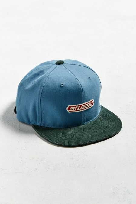 Stussy Washed Canvas Strapback Hat