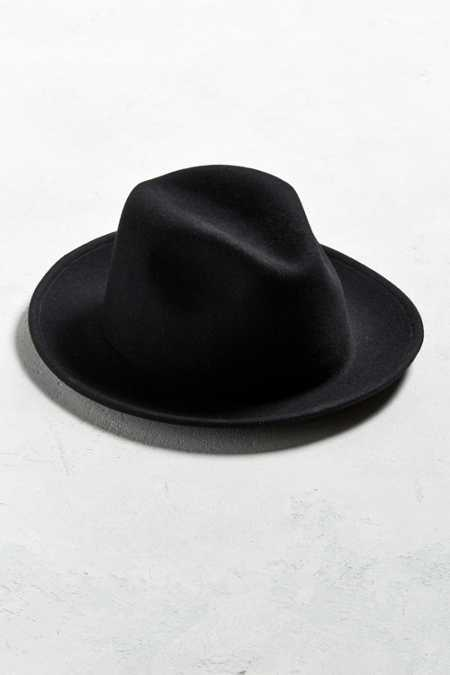 Coal Howell Crushable Fedora Hat