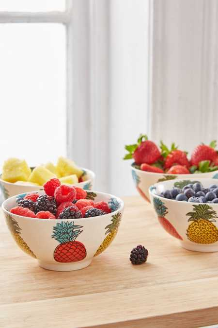 Pineapple Bowl Set
