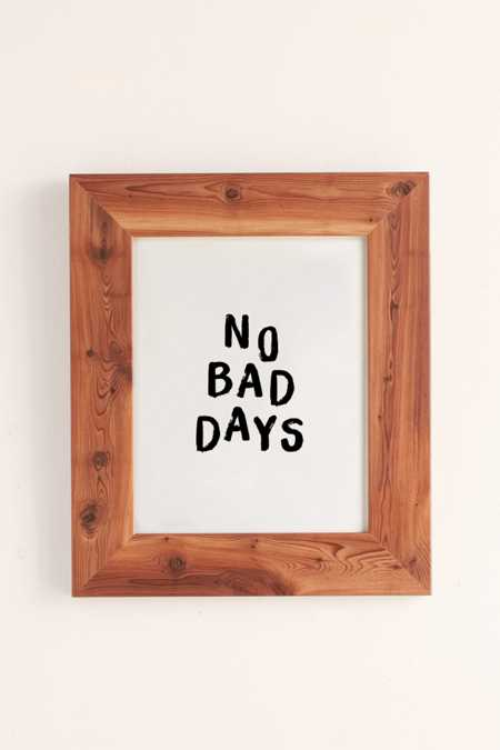 The Nectar Collective No Bad Days Art Print
