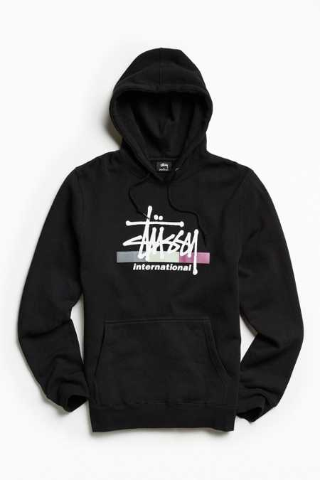 Stussy Three Stripes Hoodie Sweatshirt