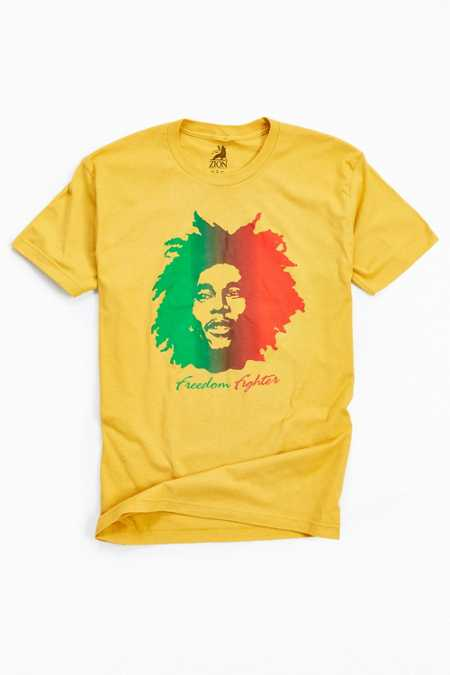 Bob Marley Freedom Fighter Tee