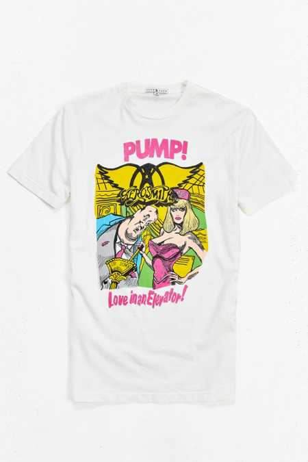 Junk Food Aerosmith Pump Tee