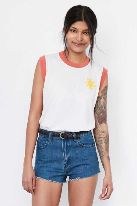 Camp Collection Next Summer Ringer Muscle Tee