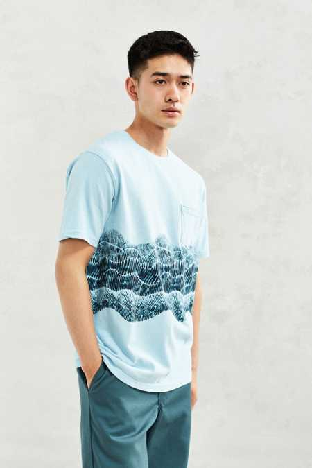 UO Printed Pocket Tee