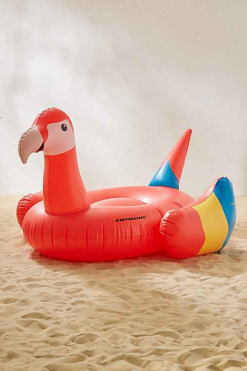 Parrot Pool Float,RED,ONE SIZE