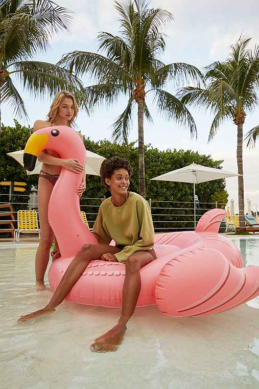Giant Flamingo Pool Float - Urban Outfitters