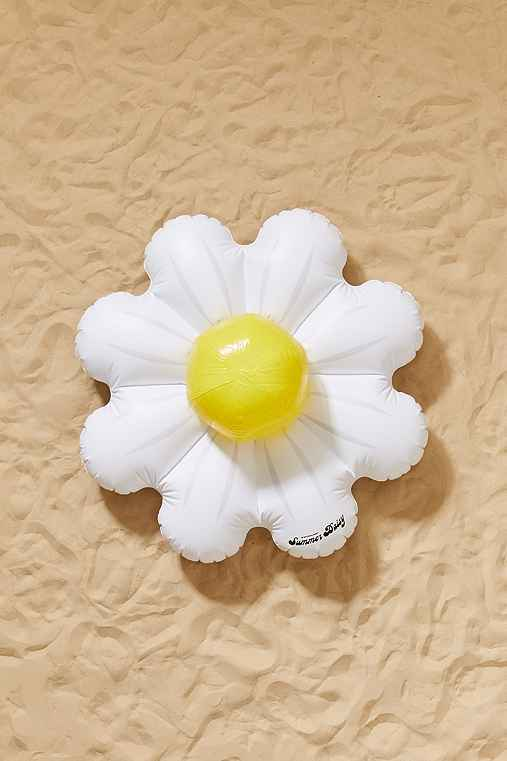 Daisy Pool Float And Ball Set,ASSORTED,ONE SIZE