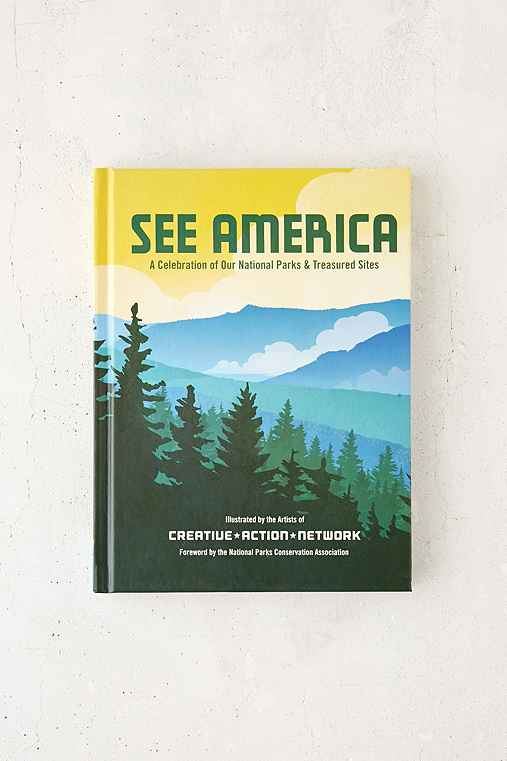 See America: A Celebration Of Our National Parks & Treasured Sites By Creative Action Network,ASSORTED,ONE SIZE