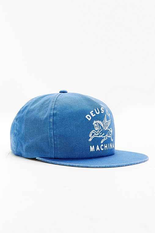Deus Ex Machina Pegasus Snapback Hat,BLUE,ONE SIZE