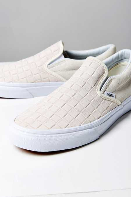 Vans Suede Checkers Slip-On Sneaker