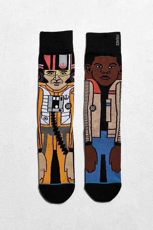 Stance X Star Wars Resistance 2 Sock,BLACK,ONE SIZE