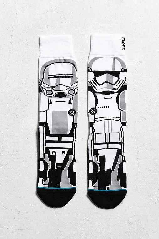 Stance X Star Wars Trooper Sock,WHITE,ONE SIZE