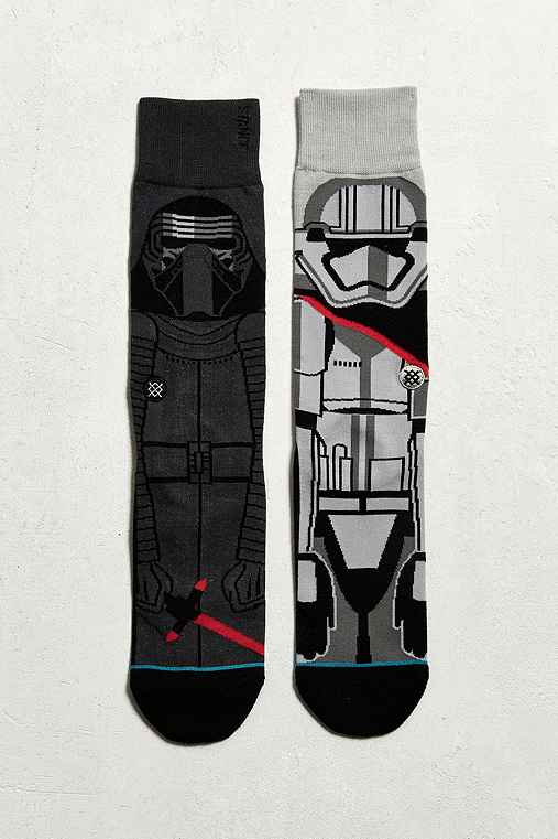 Stance X Star Wars First Order Sock,BLACK,ONE SIZE