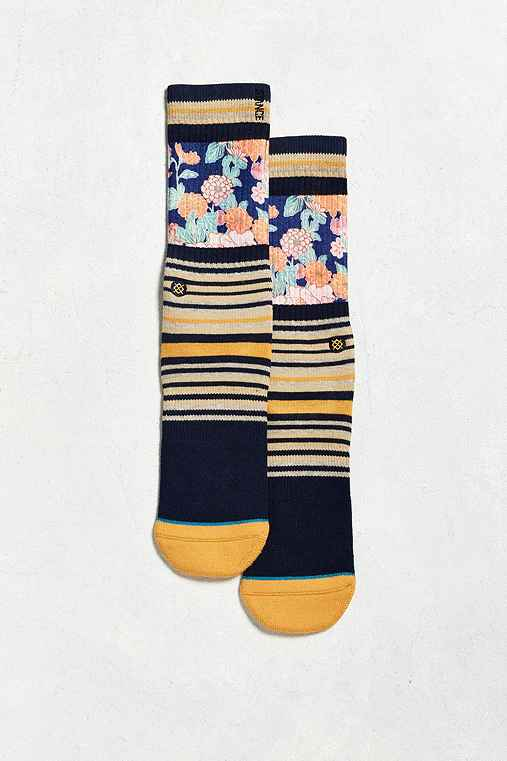 Stance Scenic Sock,NAVY,ONE SIZE