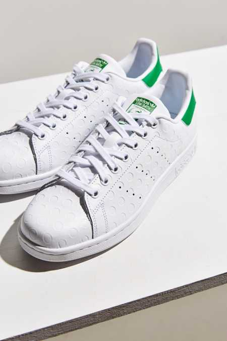 adidas Originals Stan Smith Debossed Polka Dot Sneaker