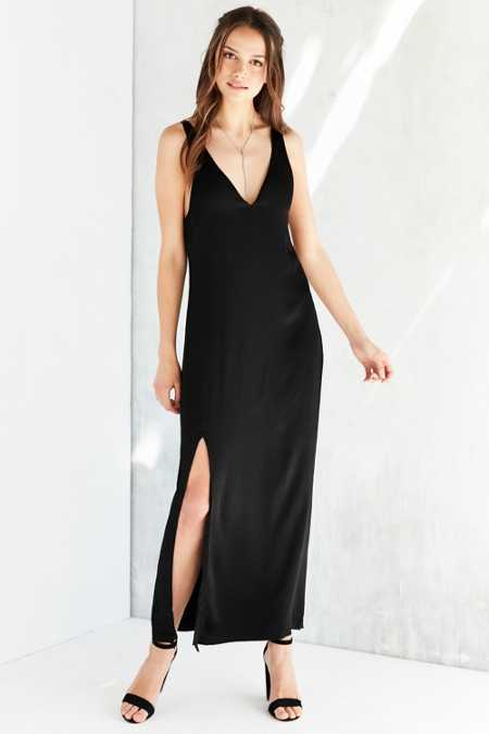 Silence + Noise Sasha Maxi Slip Dress