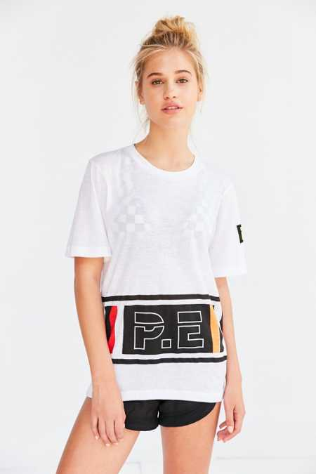 P.E Nation Sweet Blue Logo Tee