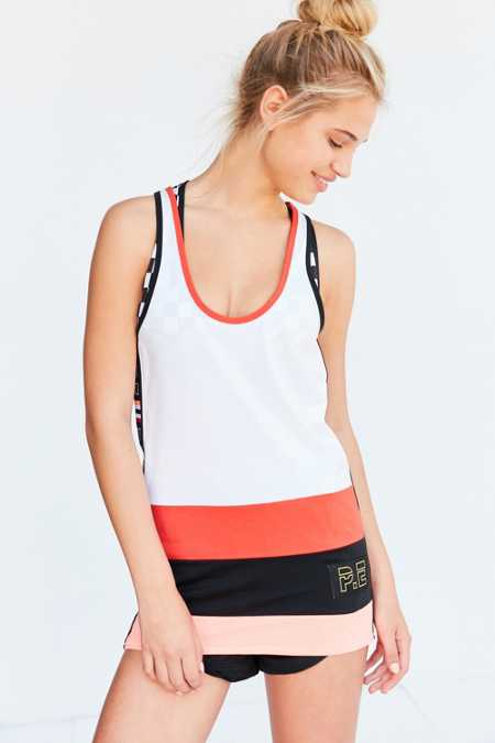 P.E Nation J Smith Paneled Tunic Tank Top
