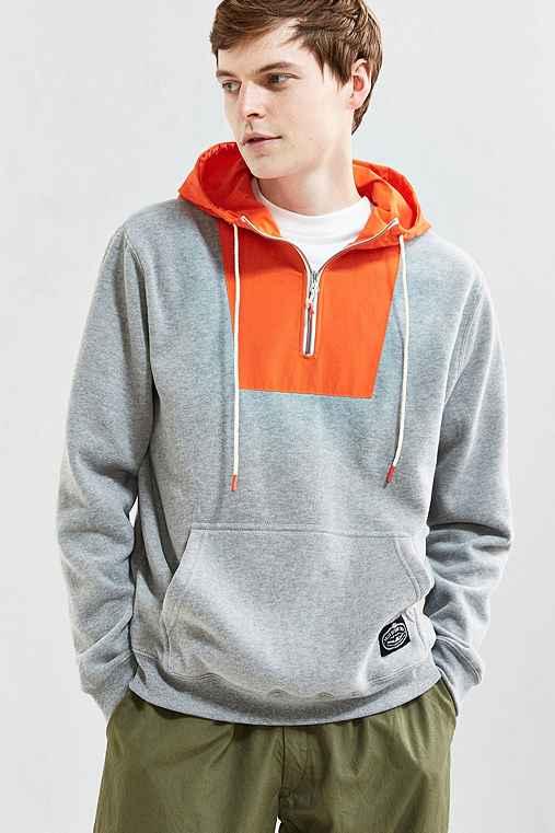 Poler Bag-It Hoodie Sweatshirt,GREY,L