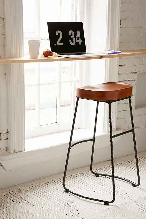 Jacob Metal Counter Stool,HONEY,ONE SIZE
