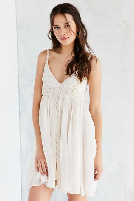 Raga Moon Canyon Babydoll Mini Dress