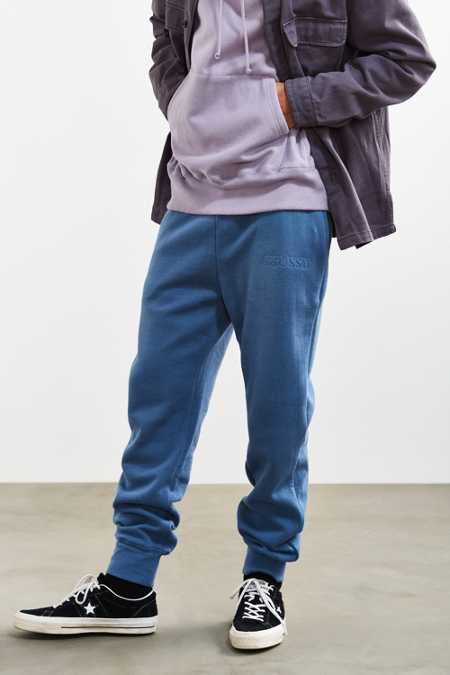 Stussy Embossed Applique Fleece Sweatpant