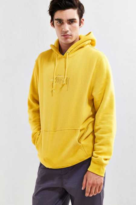 Stussy New Stock Embroidered Hoodie Sweatshirt