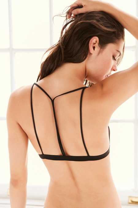 Out From Under Mesh T-Back Triangle Bra