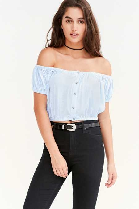 Truly Madly Deeply Amy Off-The-Shoulder Top