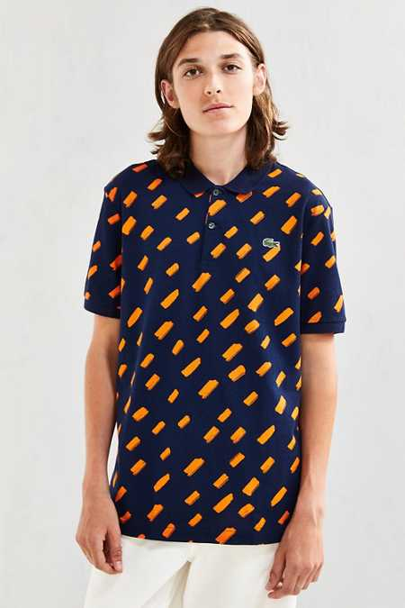 Lacoste Mini Brush Stroke Polo Shirt