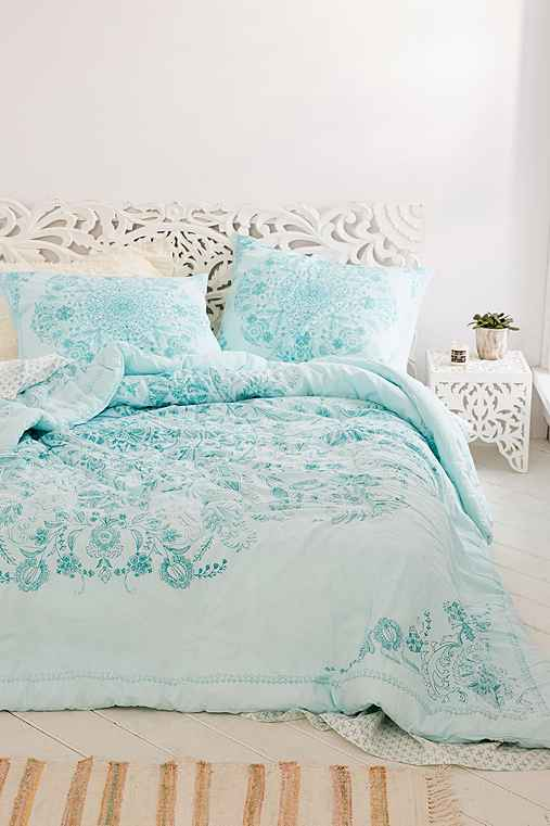 Louise Medallion Comforter Snooze Set,SAGE,TWIN XL