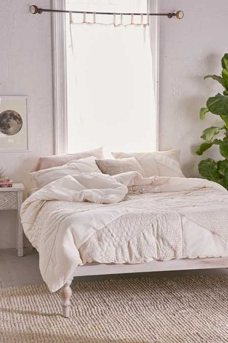 Pieced Lace Comforter