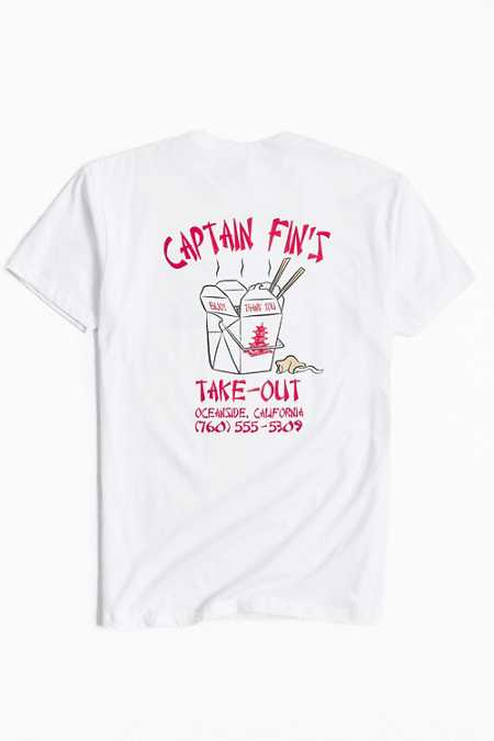 Captain Fin Take-Out Tee