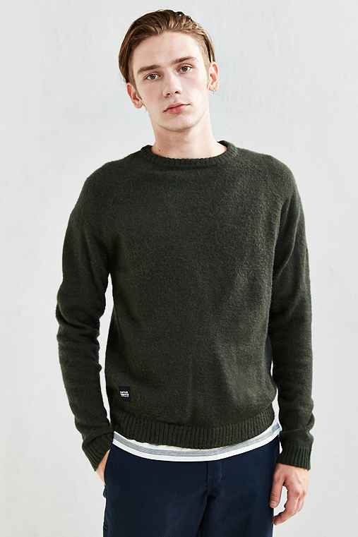 Native Youth Altitude Knit Sweater,GREEN,L