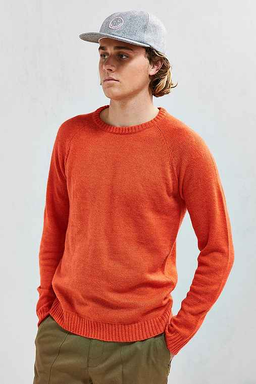 Native Youth Altitude Knit Sweater,ORANGE,XL