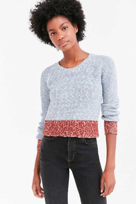 Cooperative Colorblock Crew Neck Sweater