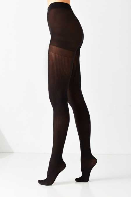 Basic Sheer Ribbed Tight