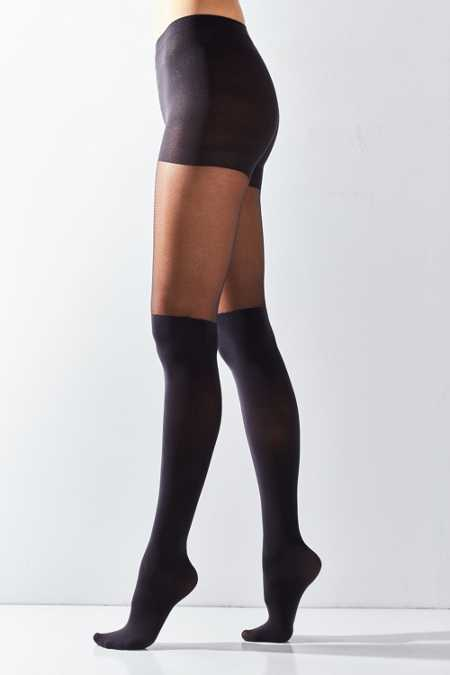 Super High Faux Thigh High Tight
